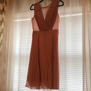 Like New BCBGMaxazria Pink Dress beautiful details